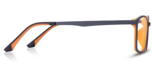 Gray plastic with inner orange