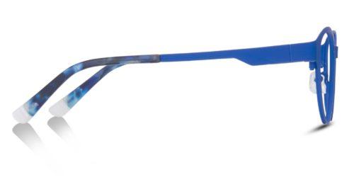 Blue or Black cat-eyed metal