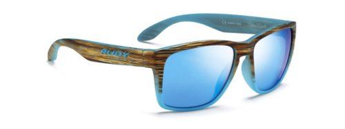 Spinhawk זהב כחול עם עדשות כחולות